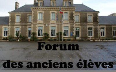 Forum des anciens élèves